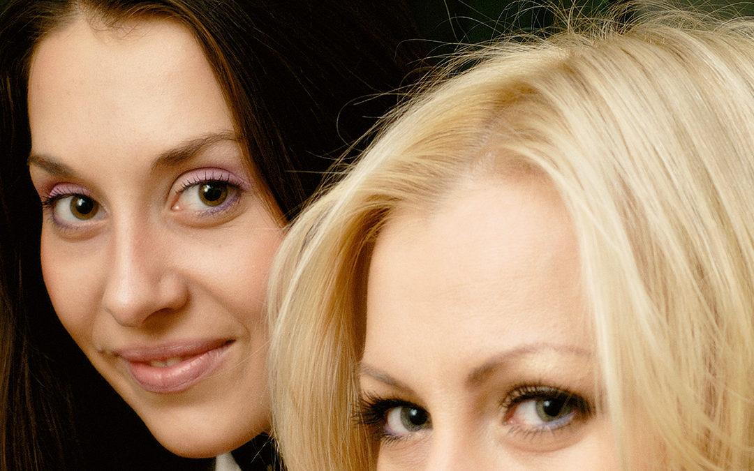 Разные люди: Наталья Андриянова и Лариса Сабирова