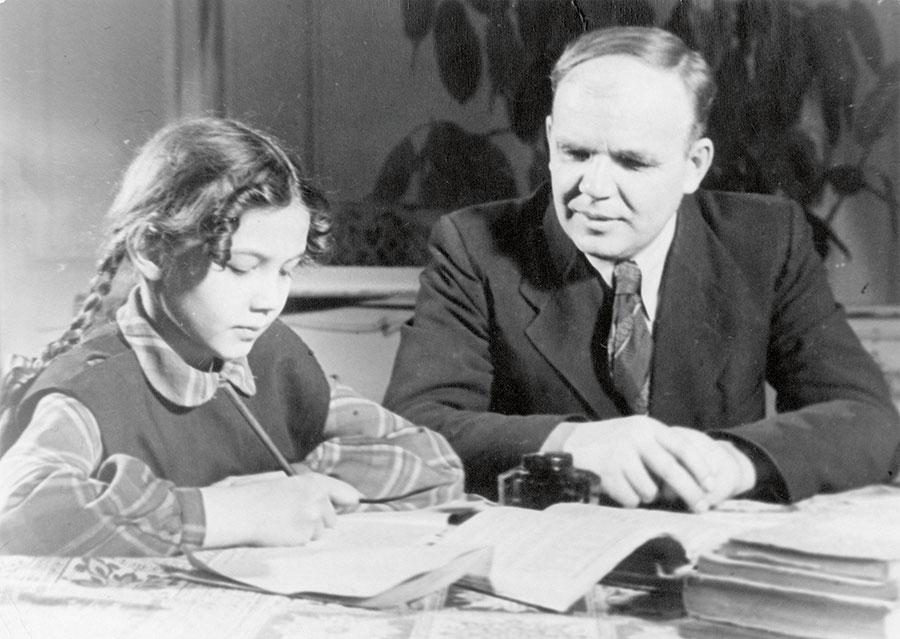 Г.И. Носов с дочерью Татьяной