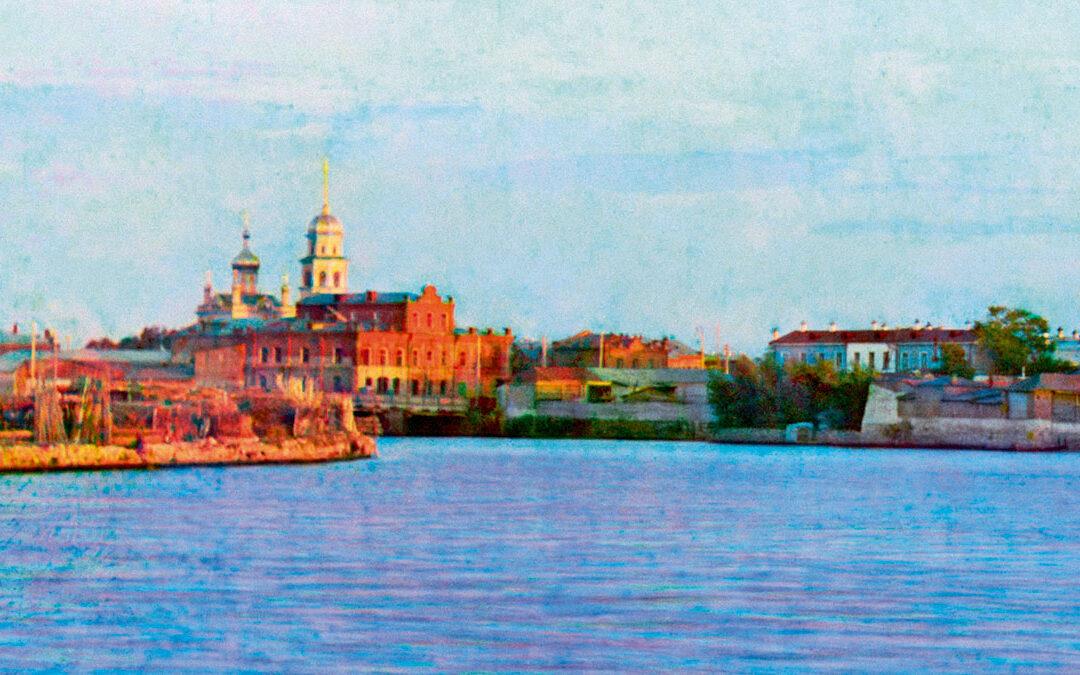 Первый цветной снимок Челябинска