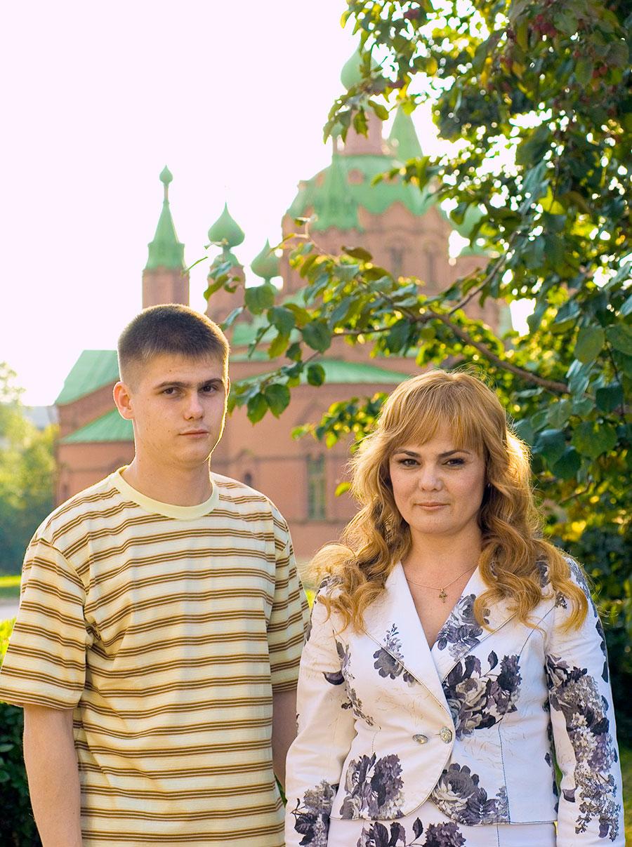 Лариса и Артём Алдошенко, (© 2021 МИССИЯ )
