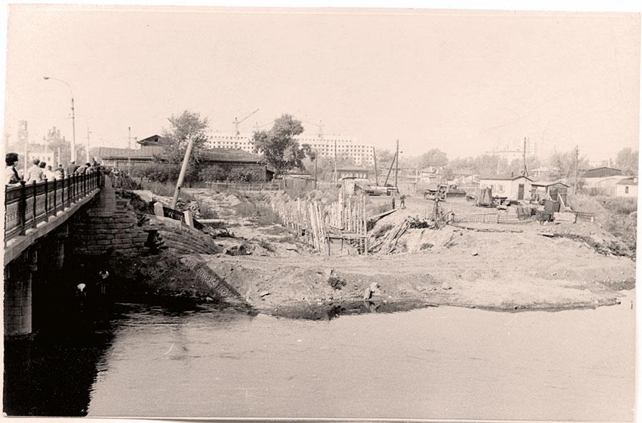 Расчистка реки Миасс (1978)