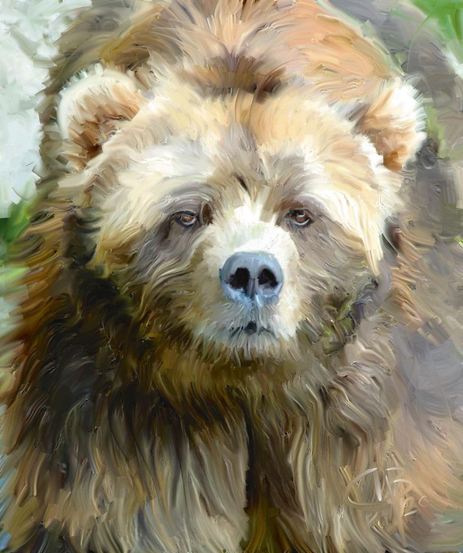 Медведь кодьяк